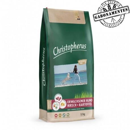 Christopherus gabonamentes szárazeledel - szarvas & burgonya