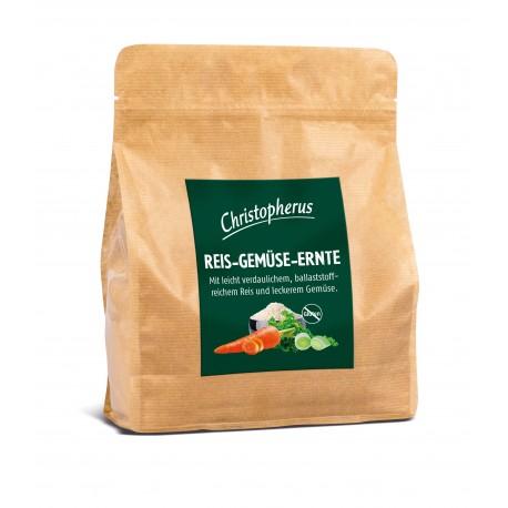 Christopherus táplálék kiegészítő pelyhek - Rizs, Zöldség, Termés