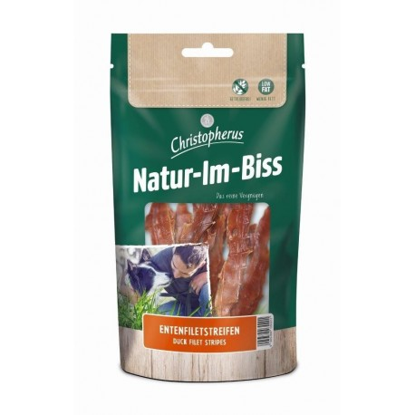 Christopherus Jutalomfalatok Natur-Im-Biss Kacsamell filé csíkok