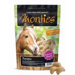 Monties Banán Snacks - extrudált - jutalomfalat lovaknak