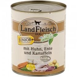LandFleisch Junior - Csirke és Kacsa Burgonyával