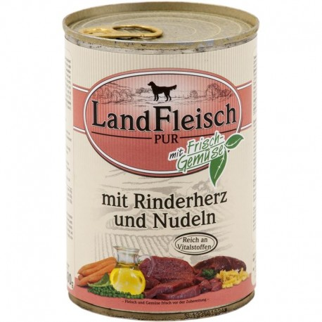 LandFleisch Pur - Marhaszív és tészta