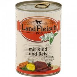 LandFleisch Classic - Marha és Rizs (csak 3% zsír)