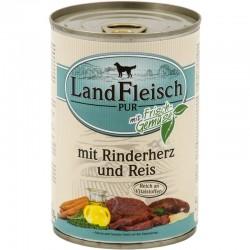 LandFleisch Pur - Marhaszív és Rizs