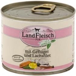 LandFleisch Classic -  Szárnyas és Lazacfilé