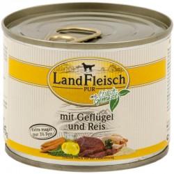 LandFleisch Classic - Szárnyas és Rizs (csak 3% zsír)