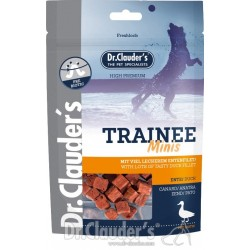 Dr. Clauder's Kacsahúsos Tréning Snack Mini 50g